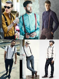 suspender style options...