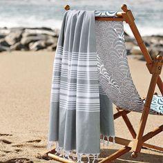 Voila! Striped Cotton Turkish Beach Towels, perfect for children!