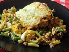 Rakott zöldbab Beef, Food, Meat, Essen, Meals, Yemek, Eten, Steak