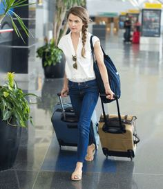 airport style | keri russell