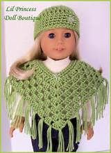 free crochet patterns for american girl doll clothes - Yahoo Image Search Results #shrugsfordresses