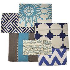 Lotus Bleu Eco Fabrics