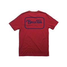 Grade Premium Tee - Tees - Men's - Shop | BRIXTON Apparel, Headwear, & Accessories