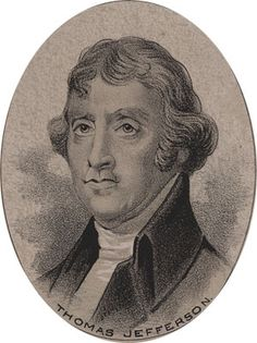 Thomas Jefferson (1743-1826) was the chief author of Declaration of Independence. He was a member of the Virginia House of Delegates from 1776-79, elected Governor of Virginia in 1779 and 1780, Associate Envoy to France in 1784, Minister to French Court in 1785, US Secretary of State from 1789-1793, Vice President of US from 1791-1801, President of the US from 1801-1809 and established the University of Virginia in 1810. He was one of the most brilliant men of his time.
