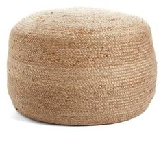 Nordstrom at Home Indoor/Outdoor Jute #Pouf | #ad