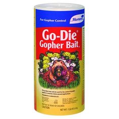 MONTEREY LAWN  GARDEN PROD LG9208 Go Die Gopher Bait 1 lb *** For more information, visit image link.