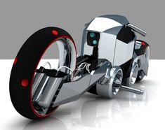 Futuristic #Motorcycle Leatherman Wrath 2083