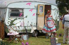 vintage trailer camper
