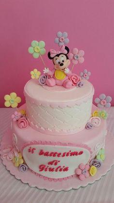 Sweet baby minnie cake  by Jenny Taormina