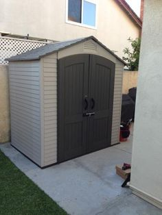 4x10 lean to shed plans end door   Storage Shed in 2019
