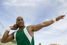 The shot put and discus are throwing events in track and field. The shot put involves throwing a heavy, round metal ball, while the discus involves throwing a heavy round disc. According to Sports Coach Brian Mackenzie, throwers in shot and discus need explosive strength, speed and balance. To improve in the track throwing events, you need to focus...