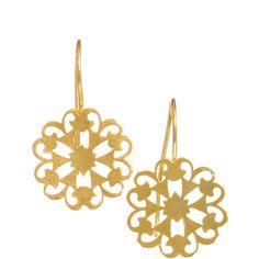 Kasturjewels Handcrafted Drop Earrings (105 BRL) ❤ liked on Polyvore featuring jewelry, earrings, accessories, gold, fish hook earrings, earring jewelry, drop earrings, hand crafted earrings and handcrafted jewelry
