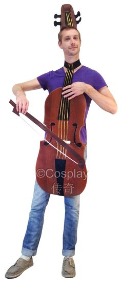 Violin Halloween costume - wow.