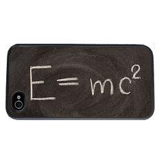 Théorie de la relativité formule iPhone 4 cas fits iPhone par Arete, $16.00