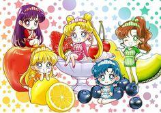 Sailor Moon, by Hanarain Arte Sailor Moon, Sailor Moon Fan Art, Sailor Moon Character, Sailor Moon Manga, Sailor Neptune, Sailor Jupiter, Sailor Moon Crystal, Sailor Venus, Sailor Mars