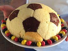 Romantik Fußball-Torte