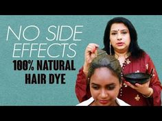 While some people may enjoy the appearance of grey hair, few people are happy about premature greying. Here beauty therapist Vasundhara explains to us how to. Dyed Natural Hair, Natural Skin Care, Natural Hair Styles, Health And Beauty Tips, Health Tips, Health Care, Grey White Hair, Hair Care Tips, Side Effects