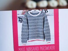 Strik din egen Mads Nørgaard bluse med ekstra god samvittighed – plummum