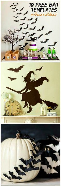 10 Free Bat Templates