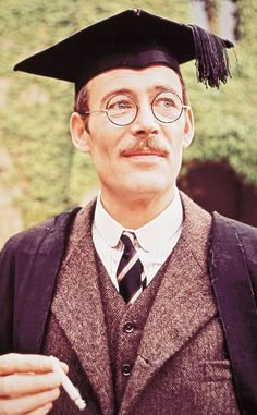 """Peter O'Toole in """"Goodbye, Mr. Chips"""" (1969)"""