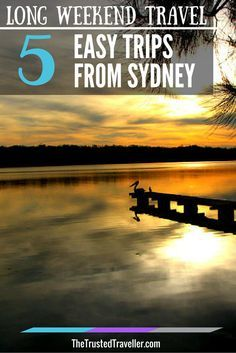 St Georges Basin near Jervis Bay south of Sydney - Long Weekend Travel: 5 Easy Trips from Sydney - The Trusted Traveller