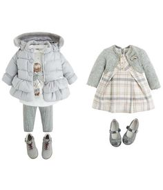 Fall Winter 2016 Winter Baby Clothes, Baby Winter, Boys Summer Outfits, Baby Boy Outfits, Baby Girl Fashion, Kids Fashion, Belle Outfit, Gugu, My Baby Girl