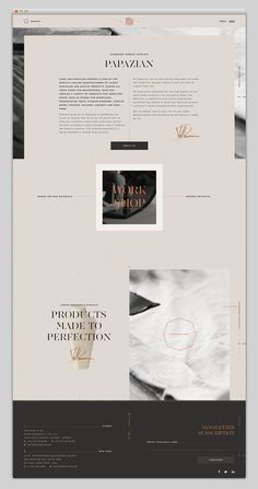Simple layout in Web Design
