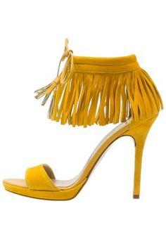 Sandales à plateforme - citrus