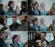 """I see you brought your lovely fiancee, Joan."" David, Kristoff and Anna - 4* 9 ""The Fall."" #ShatteredSight #OnceisFrozen"
