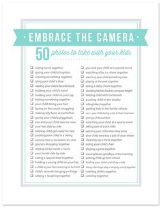 50 Photos to take With Your Kids Plus Tips to Help You Get in Front of the Camera! - simple as that