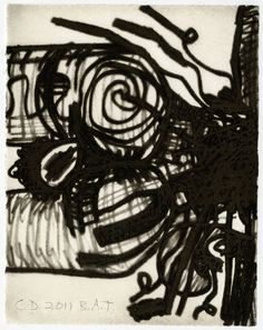 Carroll Dunham; $1,800 The Nude #11, 2011 Etching with aquatint 8 7/8 × 6 7/8 in 22.5 × 17.5 cm Edition of 10