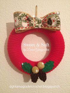Sweet & Soft: CORONA DE NAVIDAD