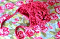 Aesthetic Nest: Crochet: Earflap Hat for Tess