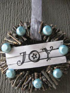 Twig Wreath Ornaments Craft Tutorial--Craft Klatch