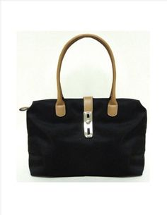 Designer Inspired Arizzo Shoulder Handbag - Black Design Handbag