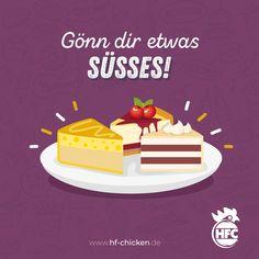 Heute ist der amerikanische National Dessert Day. Gönn dir heute mal etwas Süßes und schließe jede Mahlzeit, mit einem leckeren Dessert ab :) . #hfc #hfchicken #hfchickende #fastfood #burger #burgers #hamburger #chickenburger #fingerfoods #food #instafood #chicken #pommes #fastfoodliebhaber #instaburgers #deutschland #dillenburg #giessen #lieferservice Fast Food, Hamburger, Snacks, Cake, Meal, Germany, Appetizers, Kuchen, Burgers