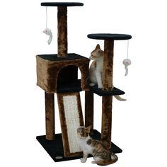 """Go Pet Club 44"""" Kitten Cat Tree"""
