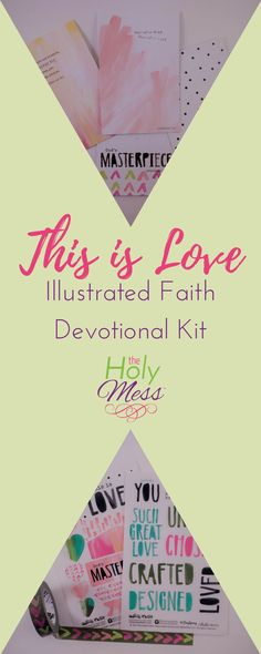 This is Love Illustrated Faith Bible Journaling Kit #illustratedfaith #biblejournaling #diy