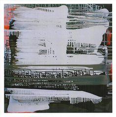 "RIBANA SZUTOR, ""Fluiditá,""Mixed Media on Canvas, 55"" x 55"""