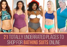 21 Totally Underrated Places To Shop For Bathing Suits Online