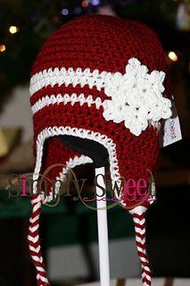 Free Ravelry Download! Snowflake crochet hat