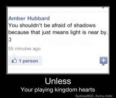 Unless your playing kingdom hearts oooooooooooorrrr you're a Doctor Who fan