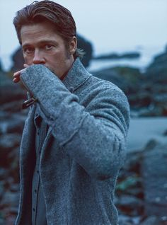 Brad Pitt | by Mark Seliger