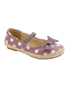 Polka dots girls ballerina from French store  vertbaudet // match it with one of claradeparis.com outfit