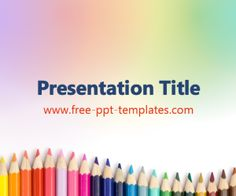 14 best educational powerpoint templates images on pinterest ppt the free crayons powerpoint template is a colorful template with a background image of colorful crayons toneelgroepblik