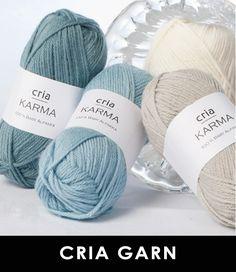 Cria – Nøstekjærlighet på nett! Garn, garnpakker og strikkeoppskrifter
