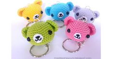 Amigurumi Pattern - Teddybear Keychain - maidireamigurumi.blogspot.it.pdf