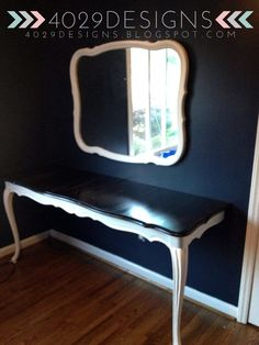 DIY Vanity table.... https://m.facebook.com/4029designs
