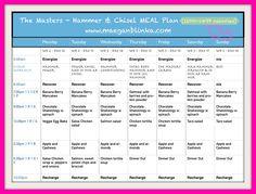 Hammer & Chisel Meal plan week of 12_14_Maegan - EDITED