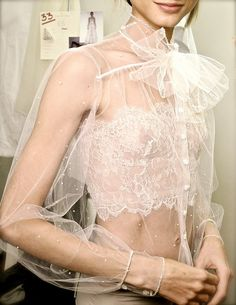 Sheet and lace